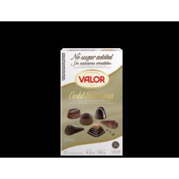 Směs čokoládových bonbonů bez cukru Gold selection 120g Valor