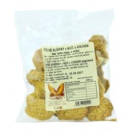 Ovesné sušenky s goji a kokosem bez lepku,vajec a mléka 150g NATURAL