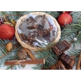 SladStar Vánoce sladové müsli – košík
