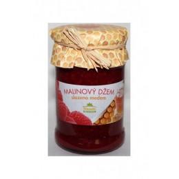 Malinový džem slazený medem 275g Kvasnicka