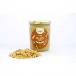 Ořechové máslo arašídové jemné (creamy) 420 g NAVARENO