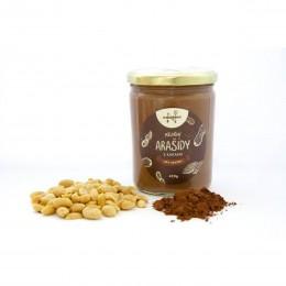 Ořechové máslo arašídové s kakaem 420 g NAVARENO