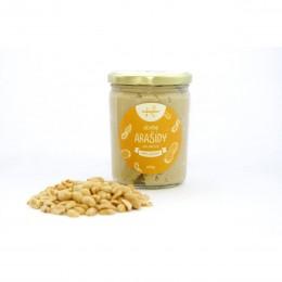 Ořechové máslo arašídové s kousky (crunchy) 420 g NAVARENO