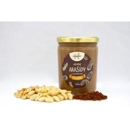 Ořechové máslo arašídové s kakaem a mandlemi 420 g NAVARENO