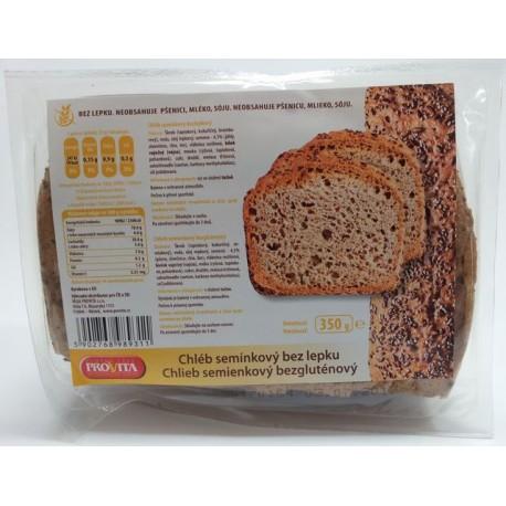 Chléb bez lepku semínkový 350g PROVITA