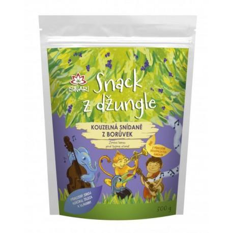 Snack z džungle BIO - KOUZELNÁ SNÍDANĚ Z BORŮVEK 300g ISWARI