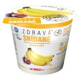 Zdravá snídaně banán a fíky 78g bez lepku