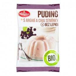 Pudink s aronií a chia semínky bezlepkový 40 g BIO AMYLON