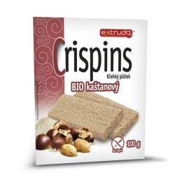 Crispins BIO kaštanový křehký plátek 100g
