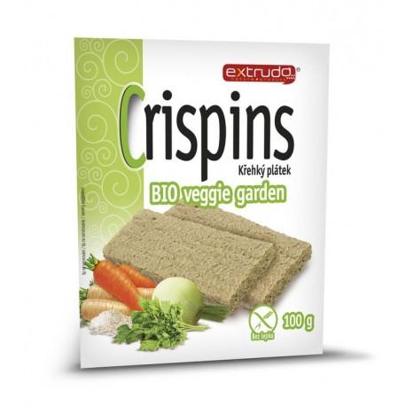 Crispins BIO veggie garden křehký plátek 100g