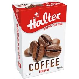 Halter Káva (Coffee) bonbóny, 40 g bez cukru