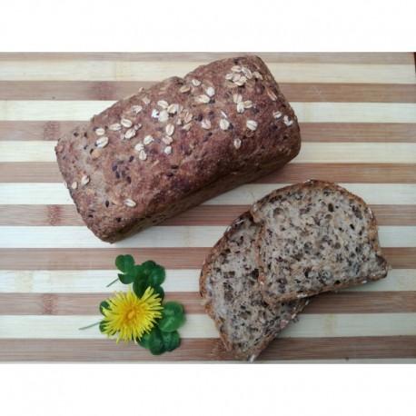 Bezlepkový chléb Liška - Ovesný bez pšeničného škrobu 400g