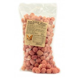 Křupky kukuřičné jogurt - jahoda - Natural 150g