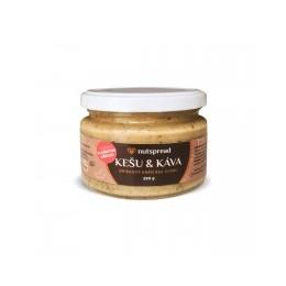 100% kešu máslo s kávou a vlašskými ořechy 250 g Nutspread