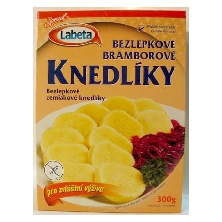 Bezlepkové bramborové knedlíky 300g směs Labeta