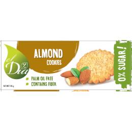 Sušenky BEZ CUKRU s Mandlovymi ořechy 145 g EL DIA