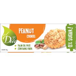 Sušenky BEZ CUKRU s arašídy 150 g EL DIA