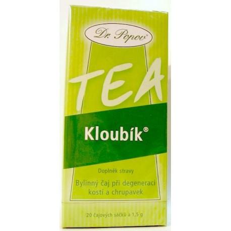 Kloubík - čaj 20 sáčků POPOV