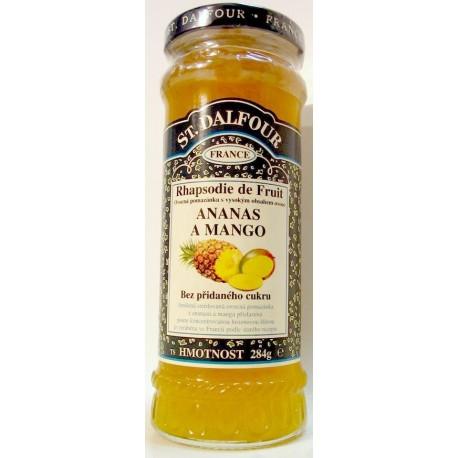 Džem St. Dalfour - Ananas a mango 284g