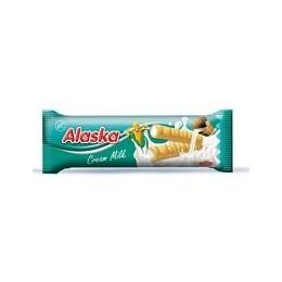 Kukuřičné trubičky Alaska 15g mléčné