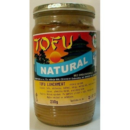 Tofu Lunchmeat sklo 200g SUNFOOD