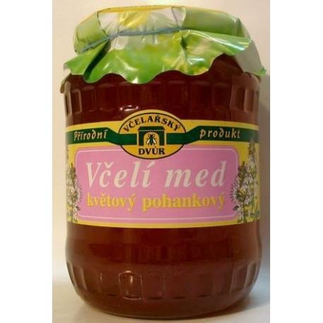 Včelí med květový pohankový 900 ml