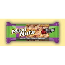 Maxinuta - ořechy a med 35g