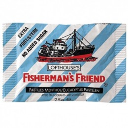 Fishermans friend bonbóny eukalypt. s náhradním sladidlem 25g