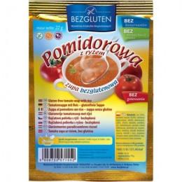 Polévka rajčatová s rýží bezlepková Bezgluten