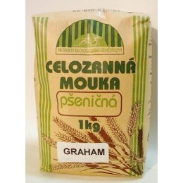 Celozrnná mouka grahamová 1kg Bio NATURAL