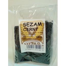 Sezam černý 100g NATURAL