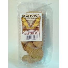 Špaldové celozrnné sušenky s javorovým sirupem 150g NATURAL
