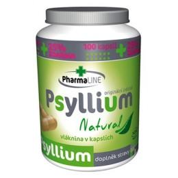 Psyllium Natural 125kapslí PharmaLine