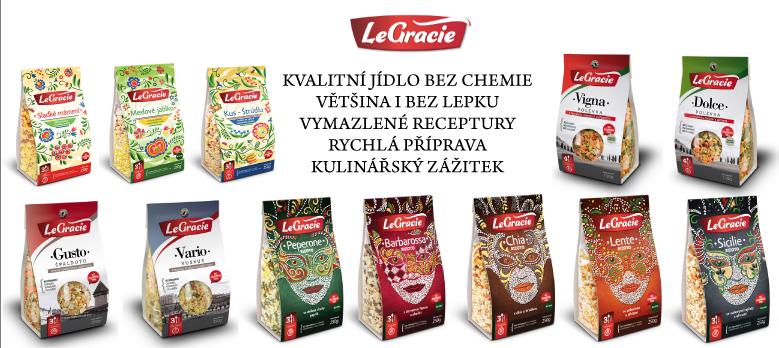 LeGracie - kvalitní hlavní jídlo a polévky bez cukru a lepku