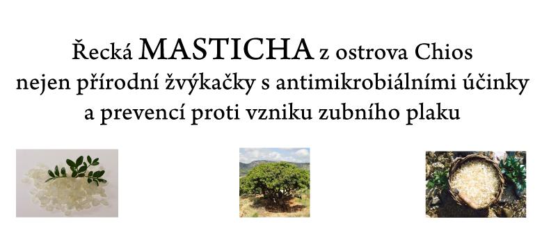 Přírodní žvýkačky s Mastichou