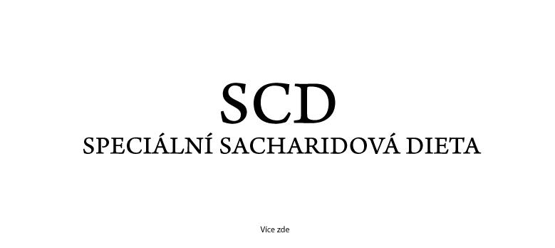 SCD - speciální sacharidová dieta