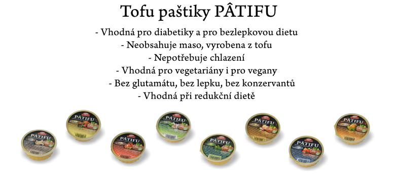 Paštiky Patifu z tofu