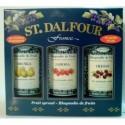 Dárková sada džemů St. Dalfour 3x284g