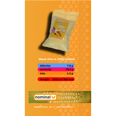 Kukuřičná strouhanka 200g NOMINAL