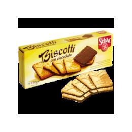 Biscotti con cioccolato polomáčené sušenky SCHAR bez lepku