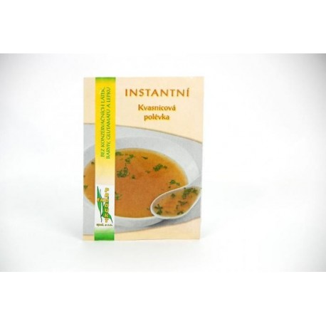 Kvasnicová instantní polévka 22g bezlepková EKOPRODUKT