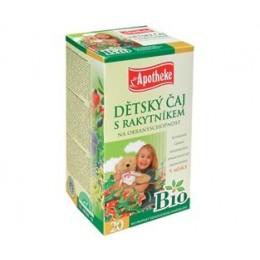 BIO Dětský bylinný čaj s rakytníkem APOTHEKE