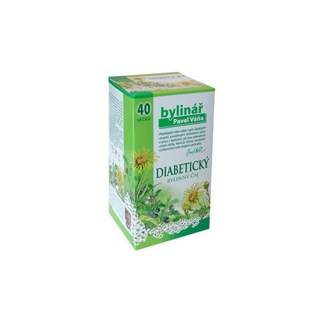 Čaj Váňa Diabetický čaj 40 x 1.6 g