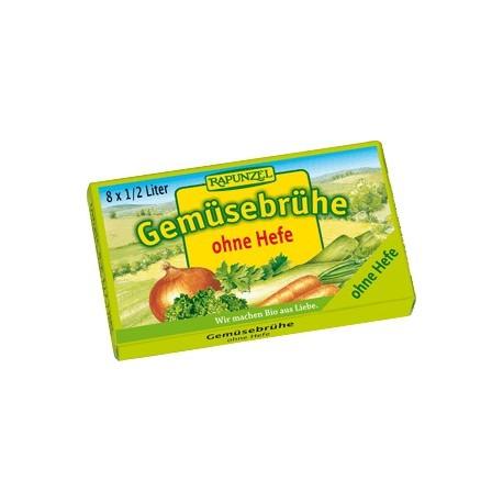 Bio zeleninový vývar bez droždí v kostce 8 ks RAPUNZEL