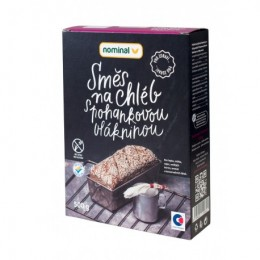 Chléb pro zdraví – směs na pečení chleba s pohankou 500g Nominal