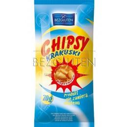 Chipsy paprikové bezlepkové a nízkobílkovinné PKU 70g BEZGL