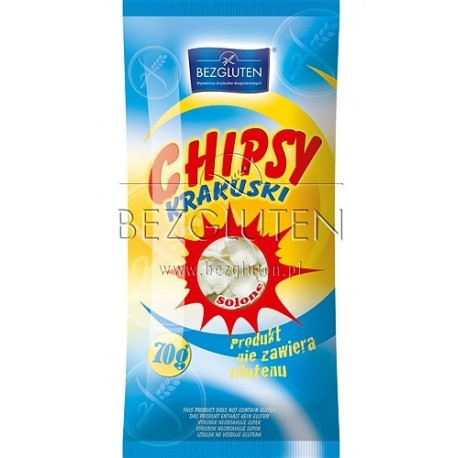 Chipsy solené bezlepkové a nízkobílkovinné PKU 70g BEZGLUTE