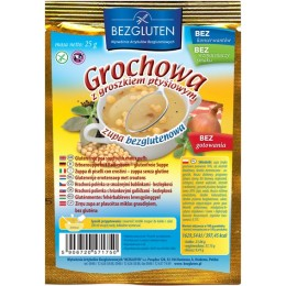 Polévka hrachová s těstovým hráškem bezlepková 25g BEZGLU