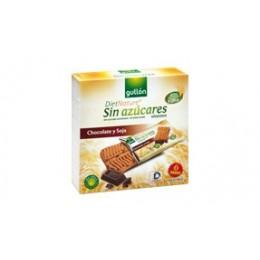 Snack se sojovými boby a kousky čokolády 144g GULLON