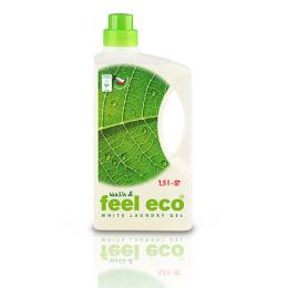 Feel eco - prací gel na bílé prádlo 1,5 L